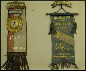 Late 1800's/early 1900's membership badges
