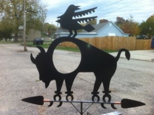 native weathervane_armor metal fabrication